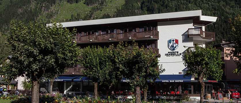 Hotel Pointe Isabelle, Chamonix, France - hotel Exterior.jpg